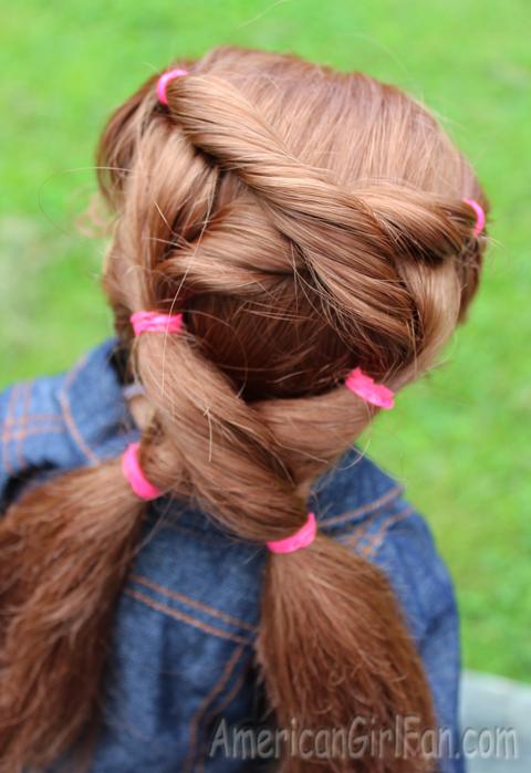 Closeup hair
