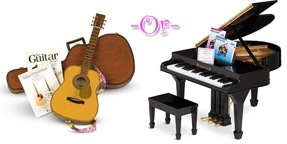 Guitar or Piano