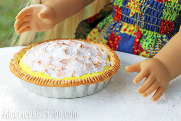 Pie closeup