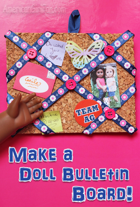 Make a Doll Bulletin board