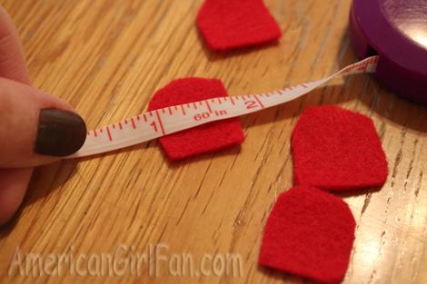 Measuring petals