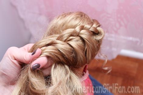 Doll Hairstyle: A Princess Braid! (AmericanGirlFan)