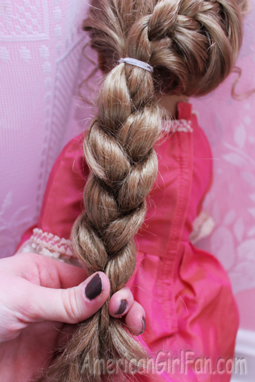 Doll Hairstyle A Princess Braid Americangirlfan