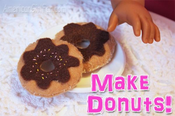 Make donuts