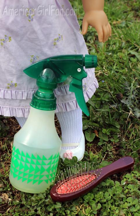 Bottle and brush