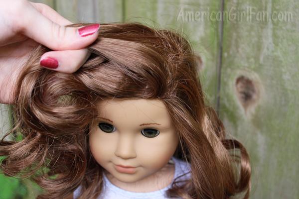 Rebecca doing hair