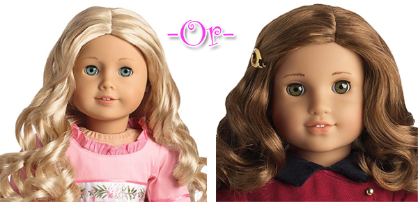 Rebecca or Caroline