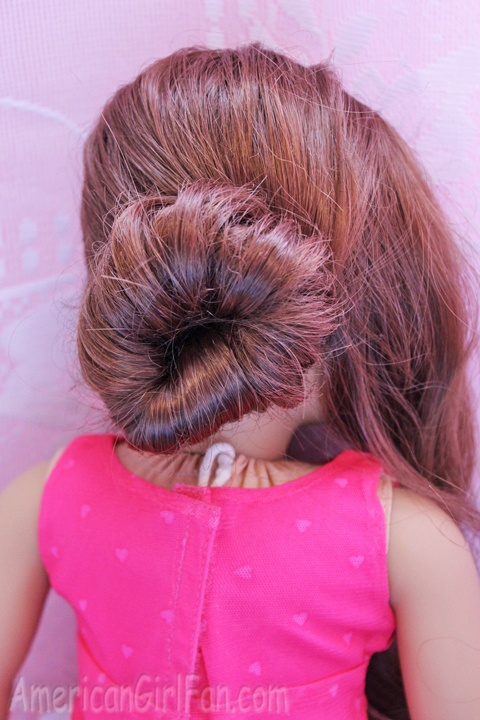 Doll Hairstyle Fancy Buns For Easter Americangirlfan