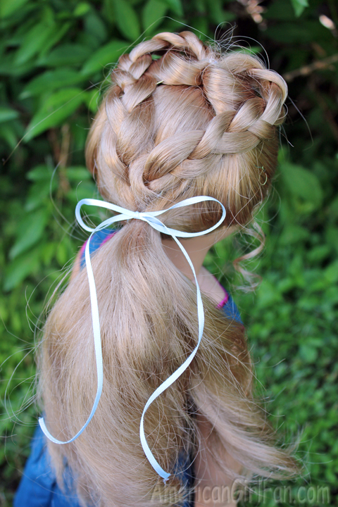 Whole hairstyle