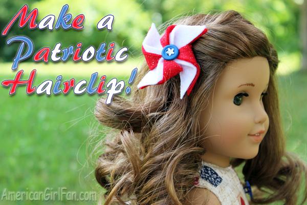 How to make a patriotic hairclip