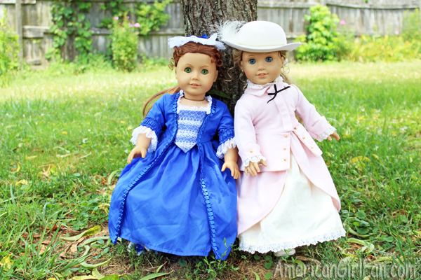 Felicity Christmas Dress and Elizabeth Riding Outfit