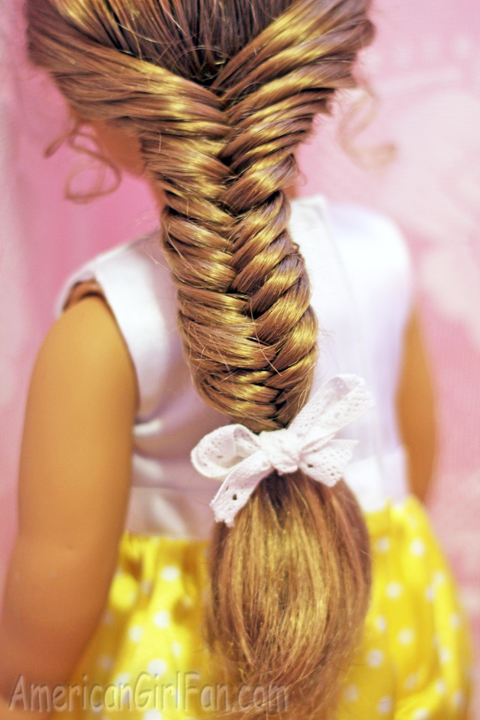 American Girl Fishtail Braid