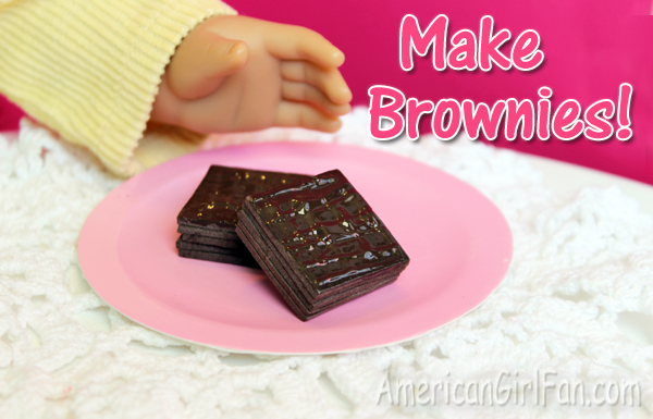 How to Make American Girl Doll Brownies