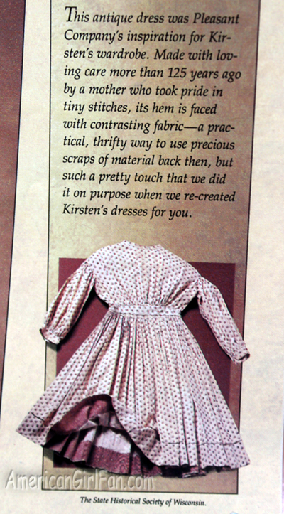 About Kirsten clothes