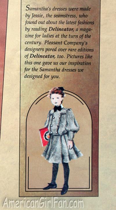 Samantha dress info