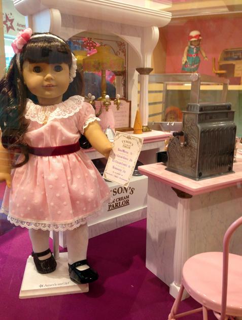 Samantha BeForever Ice Cream Parlor