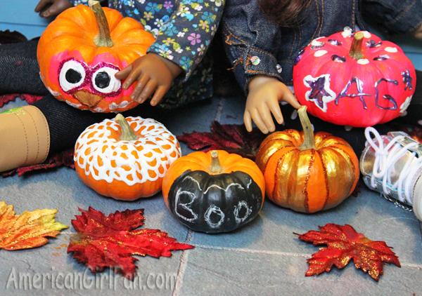 Pumpkins closup