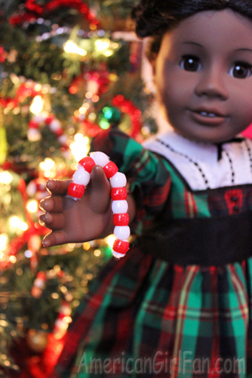 Make Doll Sized Candy Canes