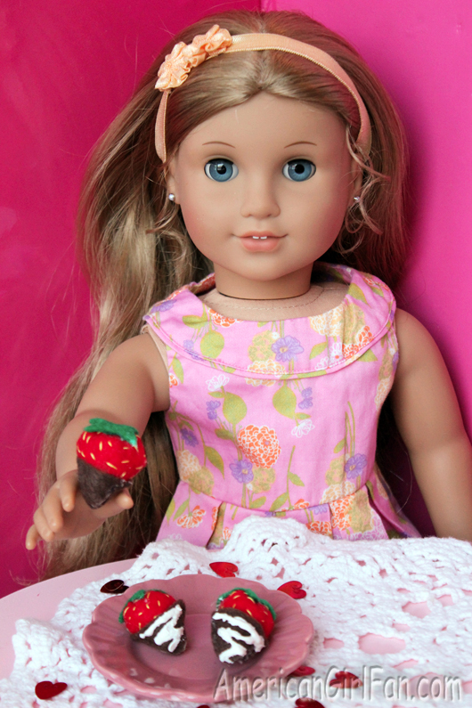 how to make american girl doll food