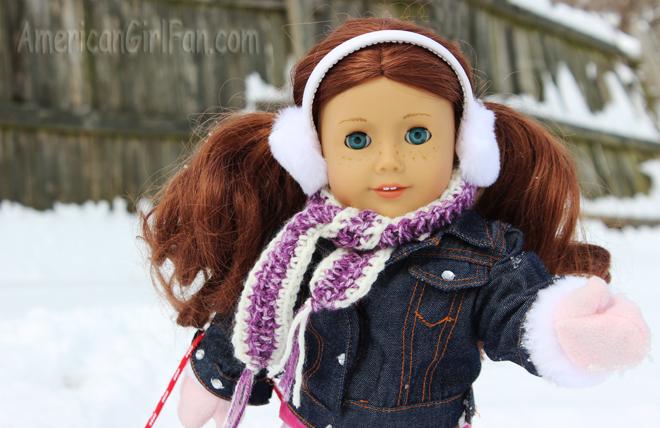 Saige In The Snow Closeup