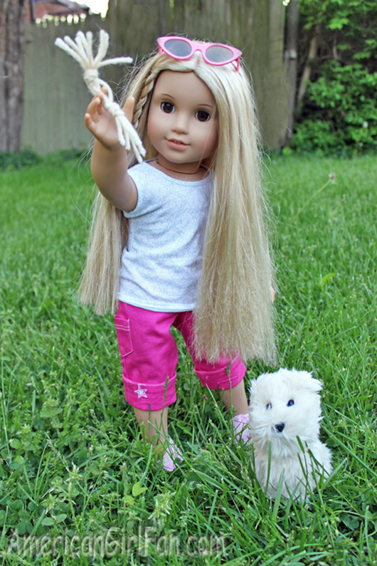 Brand New American Girl Doll/'s Pet Dog SUGAR PUPPY Only Emily Julie Molly