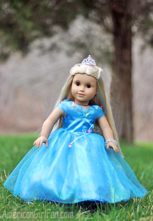 American Girl Doll Cinderella Dress2