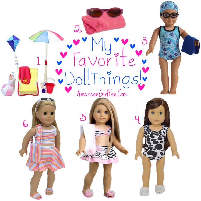 Week 14 American Girl Fan Favorite Doll Things