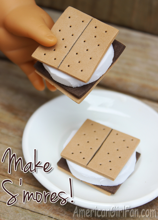 How To Make American Girl Doll Smores