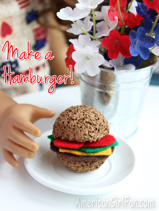 How To Make An American Girl Doll Hamburger