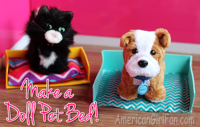 How To Make A Doll Pet Bed
