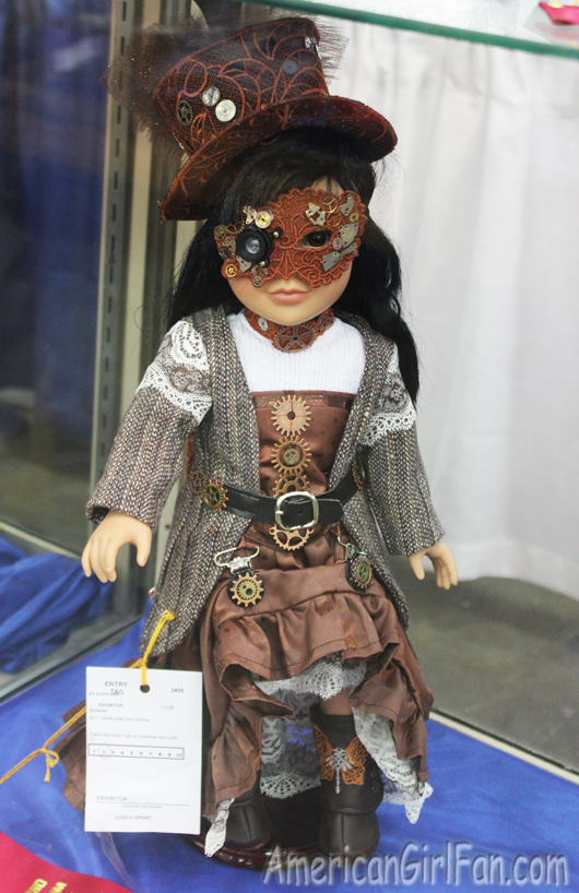 Steampunk Doll Outfit