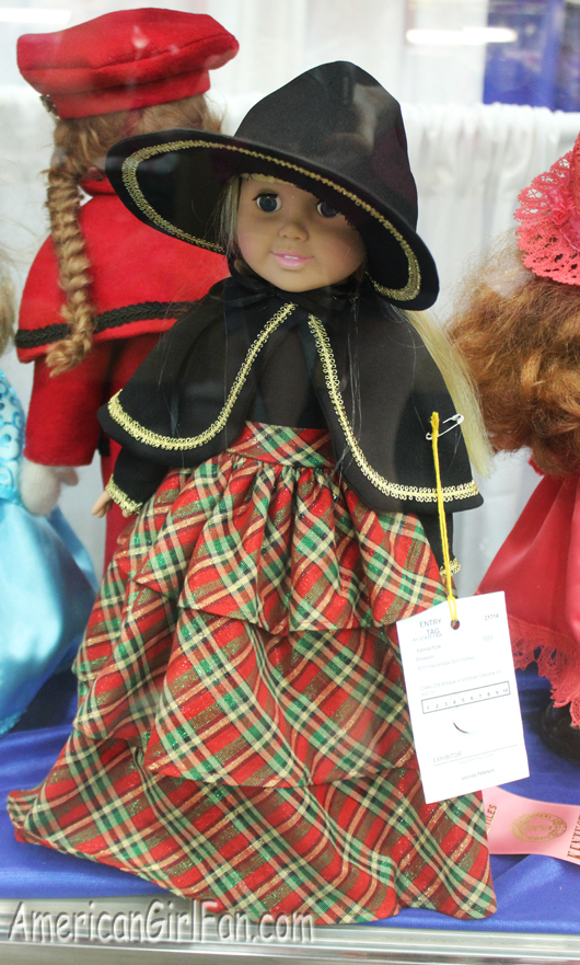 Red and Black Doll Dress