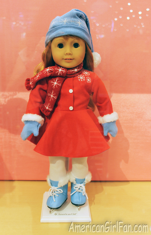 American Girl Maryellen/'s Ice Skating Accessories for 18-inch Dolls