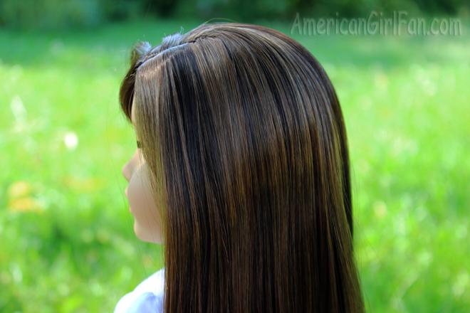 Side of hair