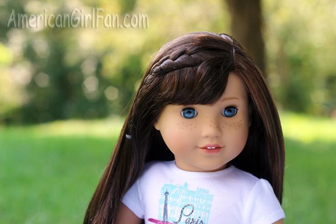 Grace Thomas Girl Of The Year Doll Review AmericanGirlFan - Doll hairstyles for grace
