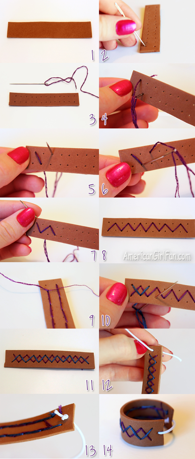 Steps to Make American Girl Doll Bracelet