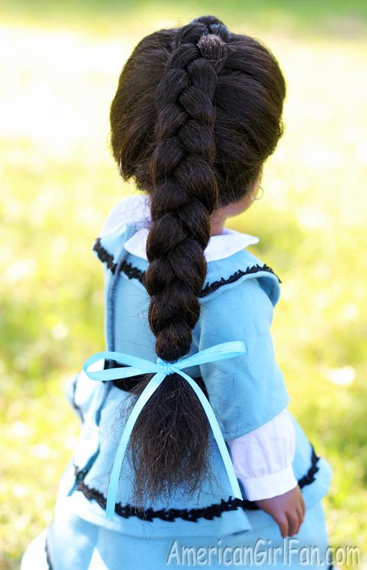 How To Make A Dutch Braid American Girl Doll Hairstyle