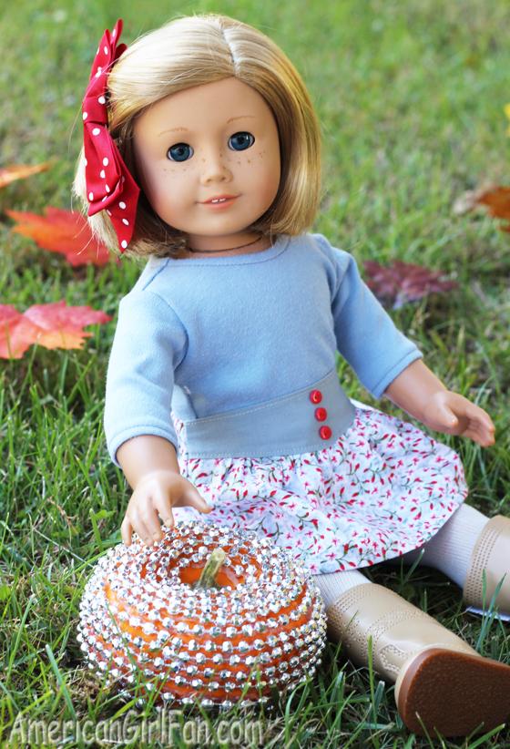 Kit With Bead Pumpkin