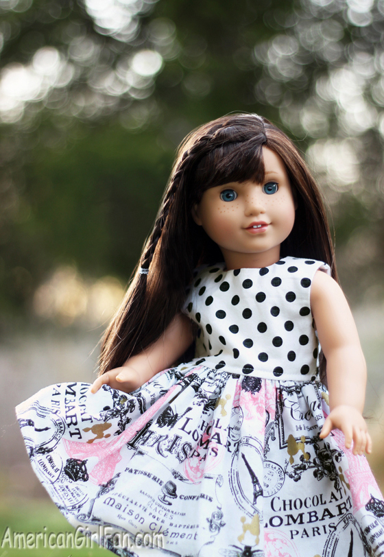 American Girl Doll Sheeky Violets Dress Giveaway
