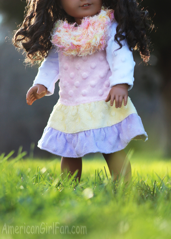 Entirely Homemade American Girl Doll Dress Giveaway