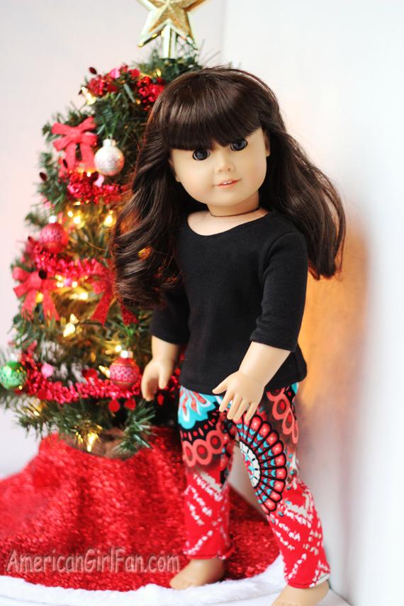 Aztec American Girl Doll Leggings
