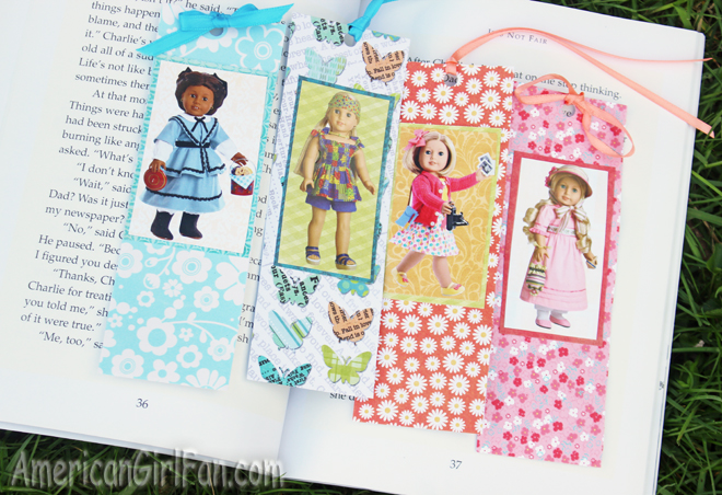 American Girl Doll Bookmarks