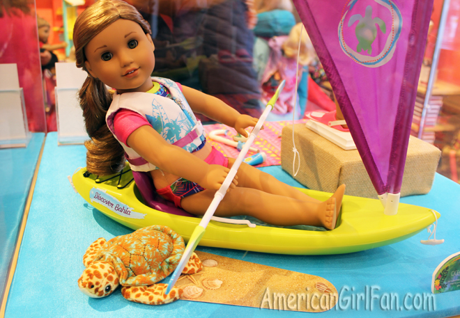American Girl DollSea Turle