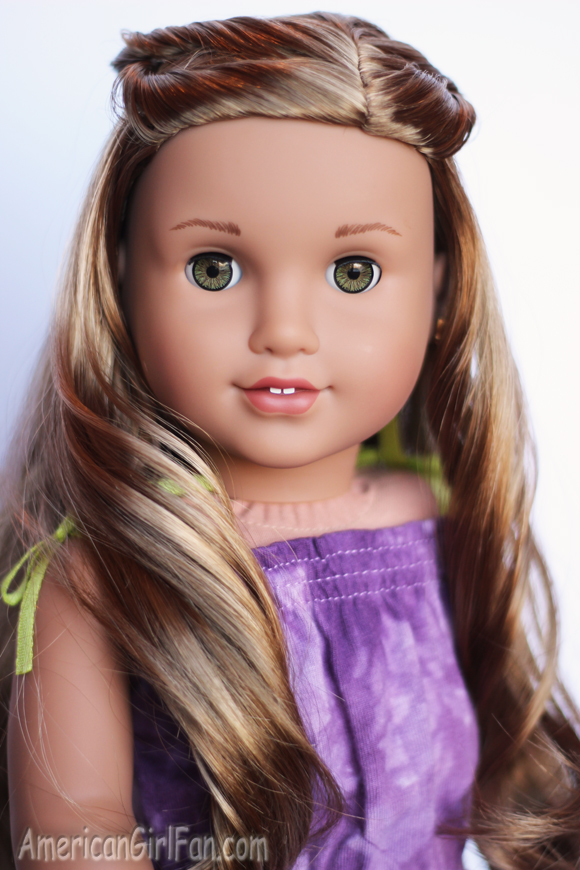 American Girl Doll Lea Clark Girl of the Year Hairstyle