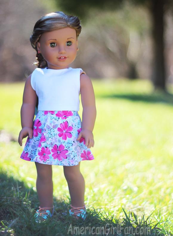 American Girl Doll Faux Fishtail Braid Tutorial