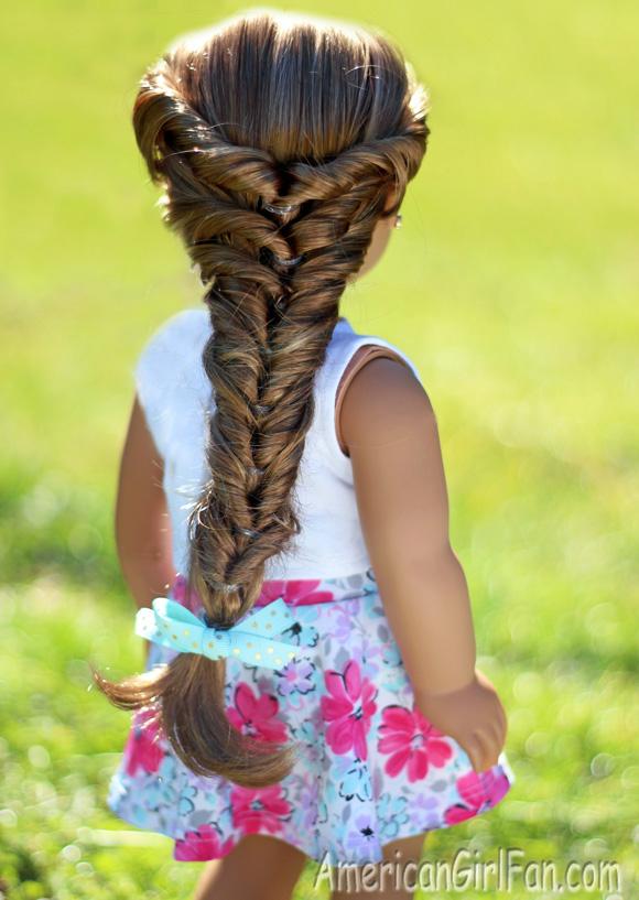 American Girl Doll Faux Fishtail Braid