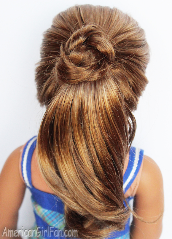 Doll Hairstyle: Fancy Ponytail! (AmericanGirlFan)