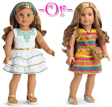 American Girl Lea Girl/'s Meet Dress Girl of Year 2016 8 10 12 14  Match Doll