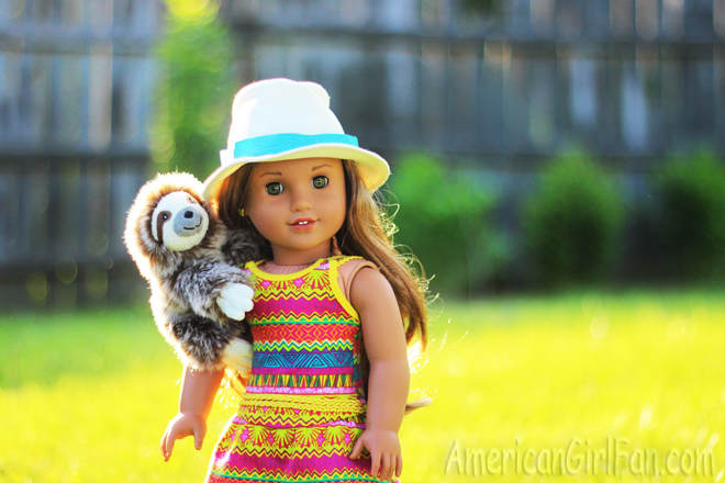 American Girl Doll Lea Clark Sloth