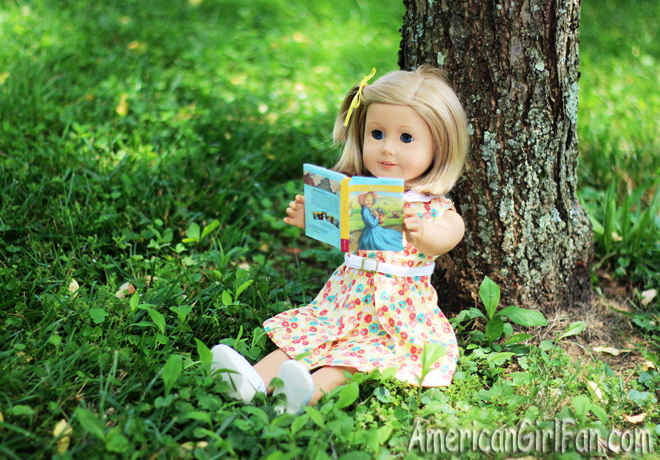 American Girl Doll Kit Reading